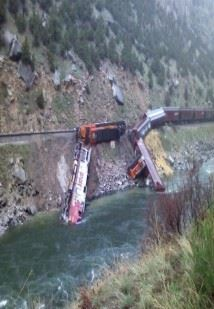 Wyoming Train Derailment